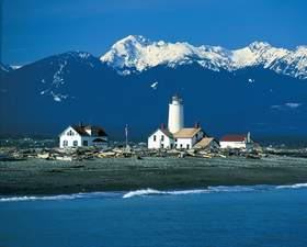 Mt. Angeles from New Dungeness Light Station